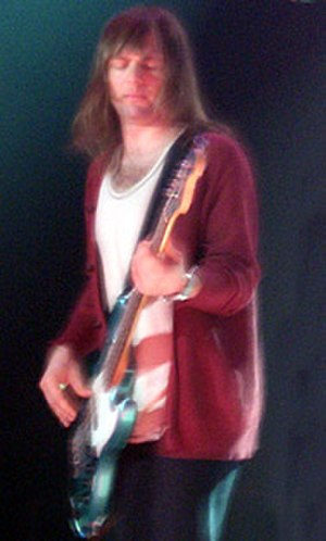 Mickey Madden - Madden performing with Maroon 5 in 2007.