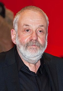 Mike Leigh British writer and director of film and theatre