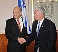Mike Pence with Ehud Olmert.jpg