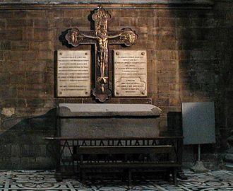 Aribert (archbishop of Milan) - Tomb of Aribert in the Milan Cathedral.