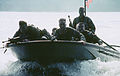 Military Photographer of the Year Winner 1996-Title- Untitled-Category- Combat Camera-Place- Second Place-Brief Description- A small boat speeds across the water with about six armed soldiers on board DM-SD-98-03181.jpg