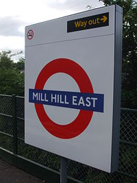 Mill Hill East roundel.JPG
