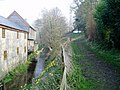 Mill stream at rear of Weycroft Mill House - geograph.org.uk - 1253705.jpg