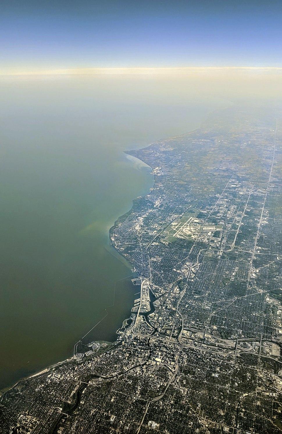 Milwaukee aerial