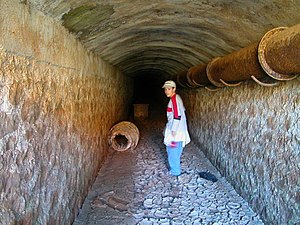 Mining industry of Morocco - Mine at Mount Uixan