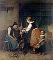Minna Heeren - Grossmutters Geburtstag 1873.jpg