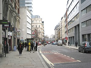 Minories - Minories, the street in 2010.
