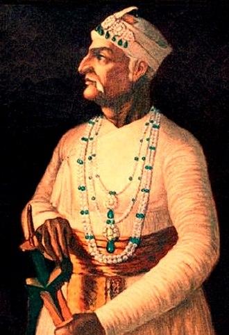 Nizam Ali Khan, Asaf Jah II - Image: Mir Nizam Ali Khan
