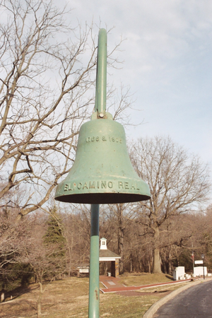 California Bell Company - Image: Mission Bell (close up)