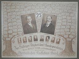 Mitgliederliste Oberbadischer Radfahrer-Bund