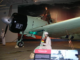 Un A6M2, Tipo 0 Modello 21, in esposizione al Pacific Aviation Museum, Pearl Harbor, Hawaii (USA)