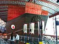 Model of Zheng He's treasure ship, Maritime Experiential Museum & Aquarium - 20111006.jpg