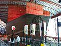 Model of Zheng He's treasure ship, Maritime Experiential Museum & Aquarium - 20111006.jpg