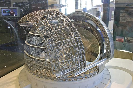 Model of the European Extremely Large Telescope 1