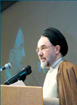 Mohammad Khatami-International Conference for Islamic world media support the Palestinian Intifada - January 29, 2002.png