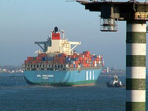 Mol Precision p2 approaching Port of Rotterdam, Holland 29-Jan-2006.jpg