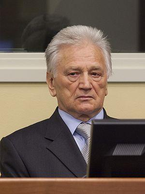Momčilo Perišić - Momčilo Perišić in court (Photograph provided courtesy of the ICTY)
