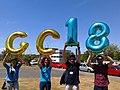 Momento de celebración na Galiciencia 2018.jpg