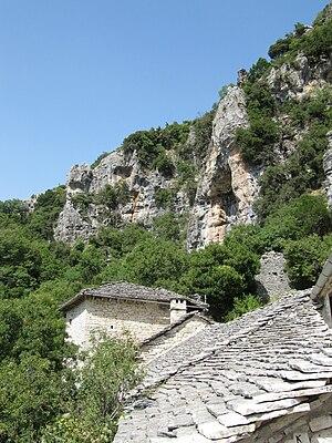 Zagori - Monastery of Saint Paraskevi (Vikos).