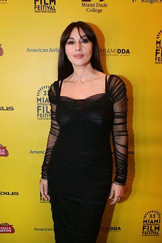 Моника Беллуччи на кинофестивале в Майами 2016