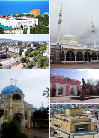 Makhachkala - Image: Montage of Makhachkala (2016)