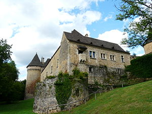 Montignac, Dordogne - Chateau of Coulonges