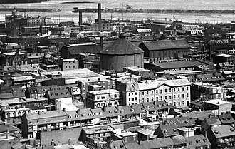 Griffintown - Griffintown in 1896.