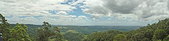 Montville, Queensland - Lookout from Montville