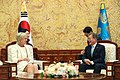 Moon Jae-in and Princess Astrid of Belgium at Cheongwadae (2).jpg