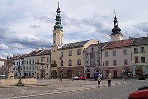 Svitavy District - Image: Moravská Třebová náměstí s radnicí