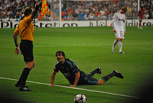 Fernando Morientes - Morientes in a Champions League match against Real Madrid in September 2009