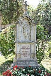 Grab von Moritz Daffinger auf dem Wiener Zentralfriedhof (Quelle: Wikimedia)