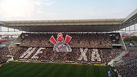 ac54e5cdcf Mosaico 3D da torcida corintiana na Arena Corinthians