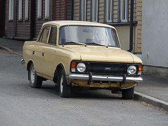 Moskvitch 412 - IZh-412 after 1982 facelift