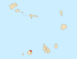Location of Mosteiros