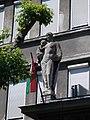 Mother and Child statue at Péterfy Hospital, 2018 Erzsébetváros.jpg