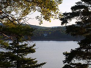 Mount Desert Island - Shorefront at evening