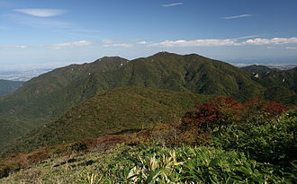 Mount Gozaisho - A view from Mount Amagoi