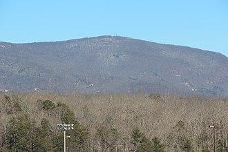Mount Oglethorpe - Image: Mount Oglethorpe covered in snow (24268287839)