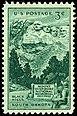 1952 Mount Rushmore -leima myönnetään Yhdysvalloissa