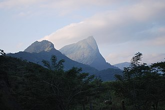 Veracruz - Mountain formation in the south of the state