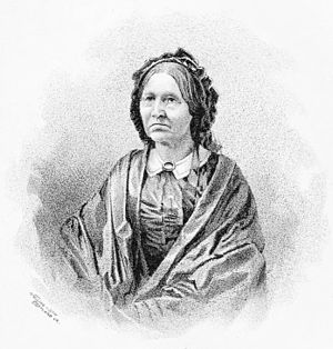 Joseph Lane - Portrait of Polly Hart Lane, Joseph Lane's wife