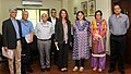 Mrs. Melinda Gates, co-chair of the Bill & Melinda Gates Foundation meeting the Union Minister for Women and Child Development, Smt. Maneka Sanjay Gandhi, in New Delhi. The Secretary.jpg