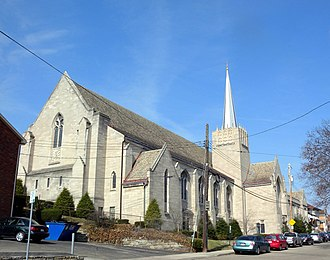 Dormont, Pennsylvania - Mount Lebanon Baptist Church, Dormont