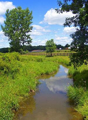 Muddy Kill - Muddy Kill flowing through a horse farm just north of NY 17K