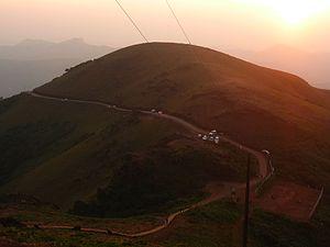 Mullayanagiri - Image: Mullaiyangiri hills