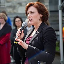 Mungall speaking at Rally April 2016.jpg
