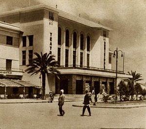 Timeline of Benghazi - Image: Municipality Theatre of Benghazi