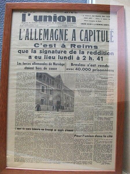 Fichier:Musée de la rédition L'Union.JPG