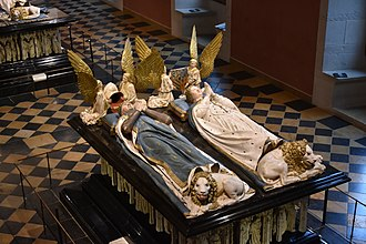 Margaret of Bavaria - The tombstone of John the Fearless and Margaret of Bavaria in Dijon